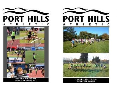 Port Hills Athletic Newsletters Pre 2019