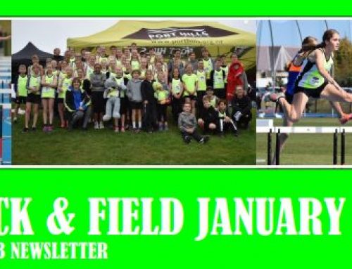 Junior Track and Field January 2021