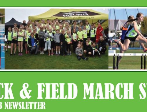 Junior Track and Field March 2021